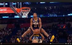 dunk competition closeup